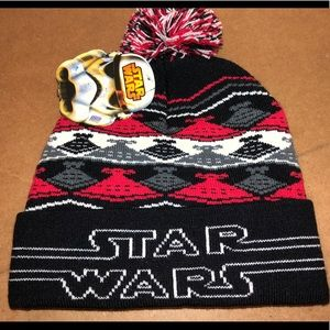 Youth kids winter Star Wars hat new with tags